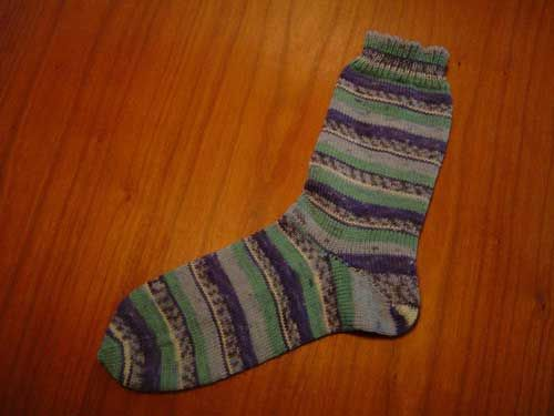Gratis Breipatronen downloaden - Technieklessen - Hoe moet ik sokken beginnend bij boord breien - breien op de breimachine