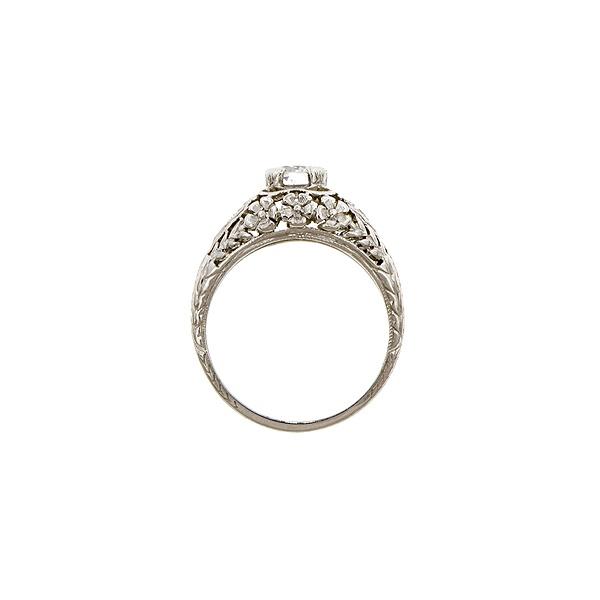 Doyle & Doyle | Ring: Art Deco Enagagement Ring, Old Euro 0.50ctEngagement Ring, Euro 050Ct