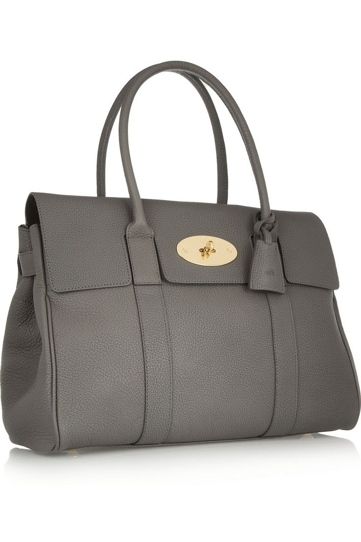 Mulberry | The Bayswater textured-leather bag | NET-A-PORTER.COM