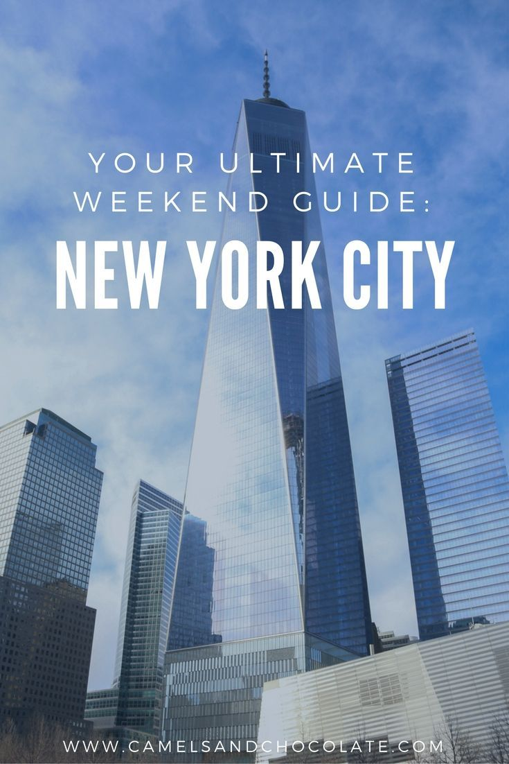 Long Weekend Getaway: Three Perfect Days in New York City. New York City is one of my favorite cities in the world, and one that I once called home. It is near impossible to cram in all my favorite New York City activities into only three days but we gave it our best shot! This New York City itinerary doesn't necessarily encompass every tourist stop in town, I hope it's a mix of must-dos and new-to-yous that you can refer to on your next city getaway to New York City. | Camels and Chocolate