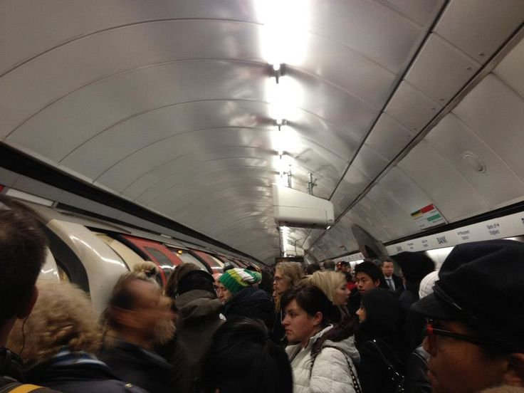 Holvi's Build a Bank   London 2013 - Morning rush in the tube. #Holvi #FinTech #FutureOfBanking