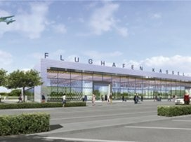 New Airport Kassel in Germany