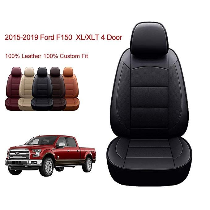 Amazon Com Oasis Auto 2015 2020 F 150 Custom Fit Pu Leather Seat Cover Compatible With Ford F 150 Xl Xlt In 2020 Truck Accessories Ford Leather Seat Covers Ford F150