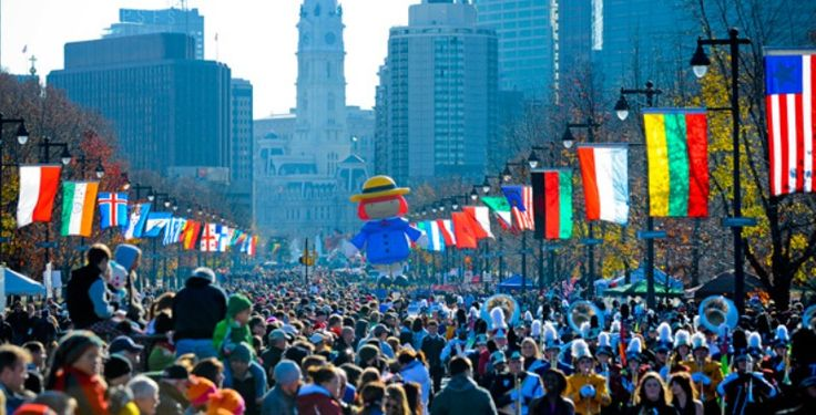 Dunkin' Donuts Parade in Philadelphia >> 9 Superlative #Thanksgiving Getaways | MiniTime.com