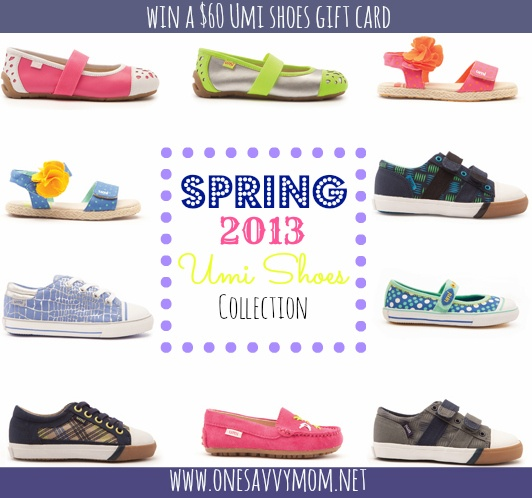 Cute finds from the umi Shoes Sprig 2013 Collection + #Win a $ 60 umi Shoes Gift Card #Kids #Fashion