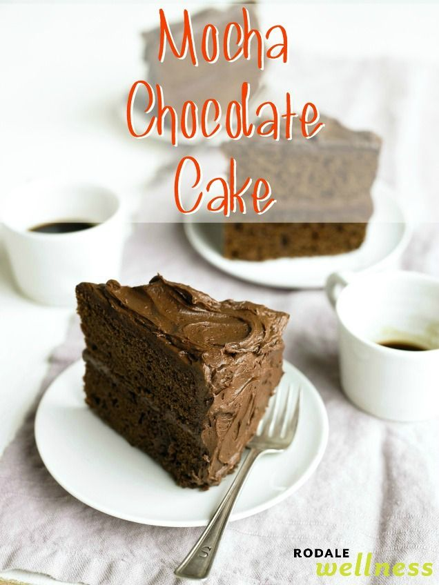 This gluten free dessert recipe for mocha chocolate cake is a sweet tooth indulgence for all coffee lovers #gf #desserts