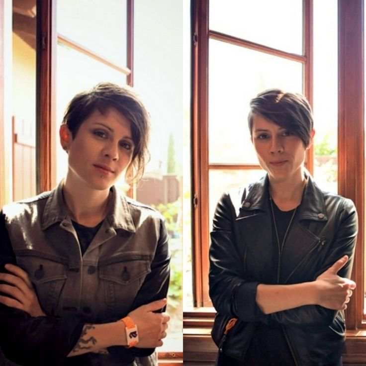 Tegan And Sara Haircuts: 56 Best T&S Images On Pinterest