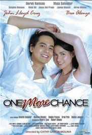 One More Chance Full Movie Online Free. Longtime couple Basha (Bea Alonzo) and Popoy (John Lloyd Cruz) are practically inseparable, so when they split up, it's not surprising how heartbroken each feels. But Basha, stifled by the ...
