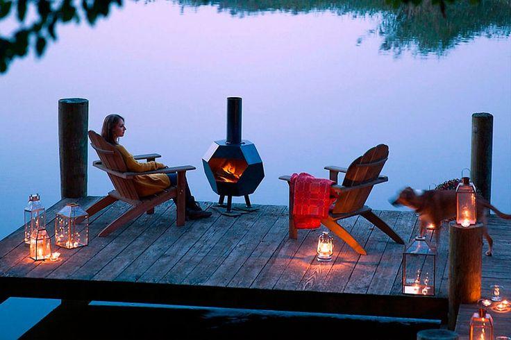 | Casas junto al lago: decoración de muelles y embarcaderos