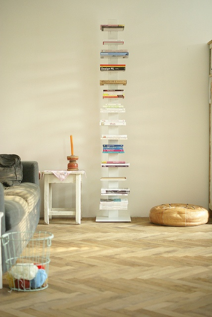 Vertical bookshelf-just for all those magazines!