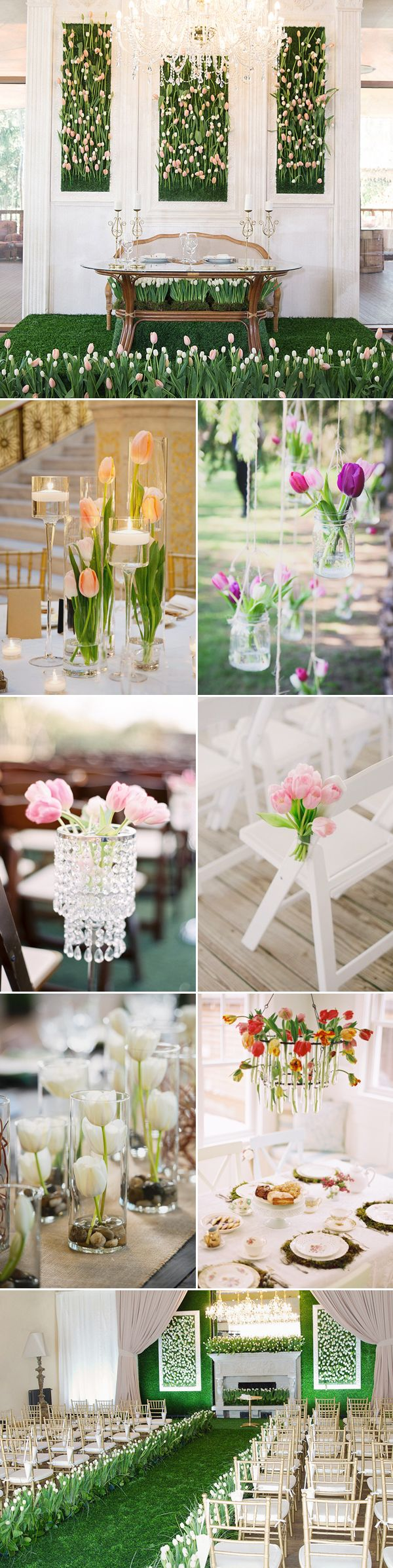 20 Beautiful Ways to Decorate Your Wedding with Tulips!