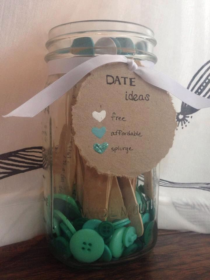 Date Night Jar Starter Kit by NanabearsKnits on Etsy https://www.etsy.com/listing/222312052/date-night-jar-starter-kit