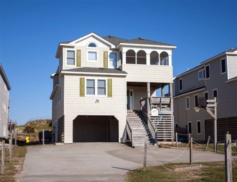 DREAM ON THE BEACH #234 l Nags Head NC Vacation Rental Home - Outer Banks oceanfront ocean views 8 bedrooms (2 masters) recreation/media lounge ... & 67 best OBX Wedding u0026 Event Homes images on Pinterest | Master ...