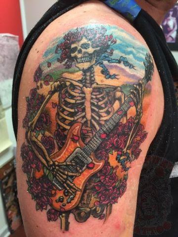 Small Grateful Dead Tattoos
