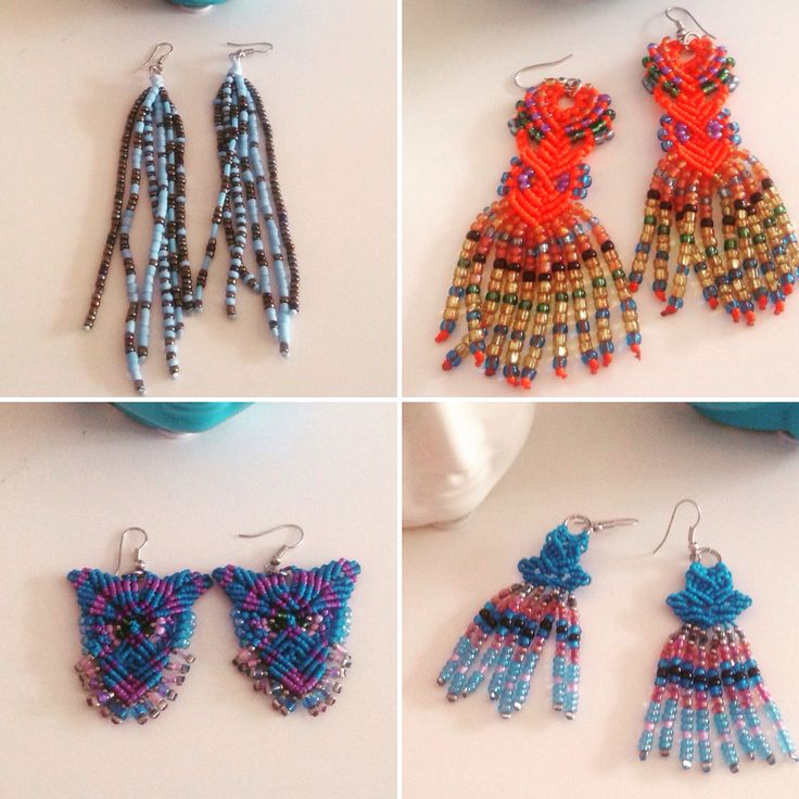 Bobo mood! Handmade unique earings for this summer !!!