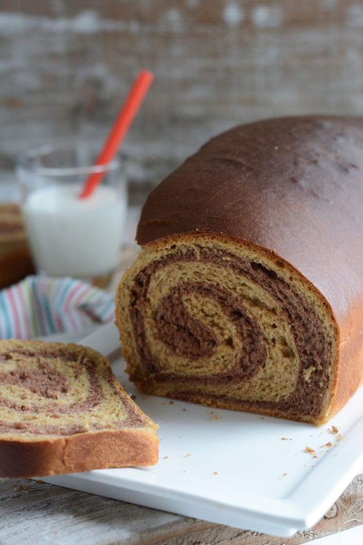 Chic, chic, chocolat...: Brioche imprimée spirale