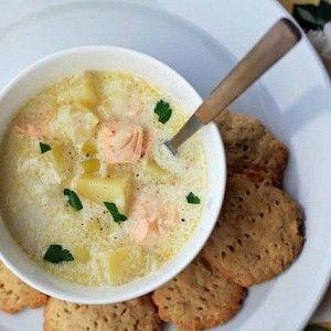 Финский сливочный суп с лососем (Лохикейтто) рецепт – супы. «Афиша-Еда»