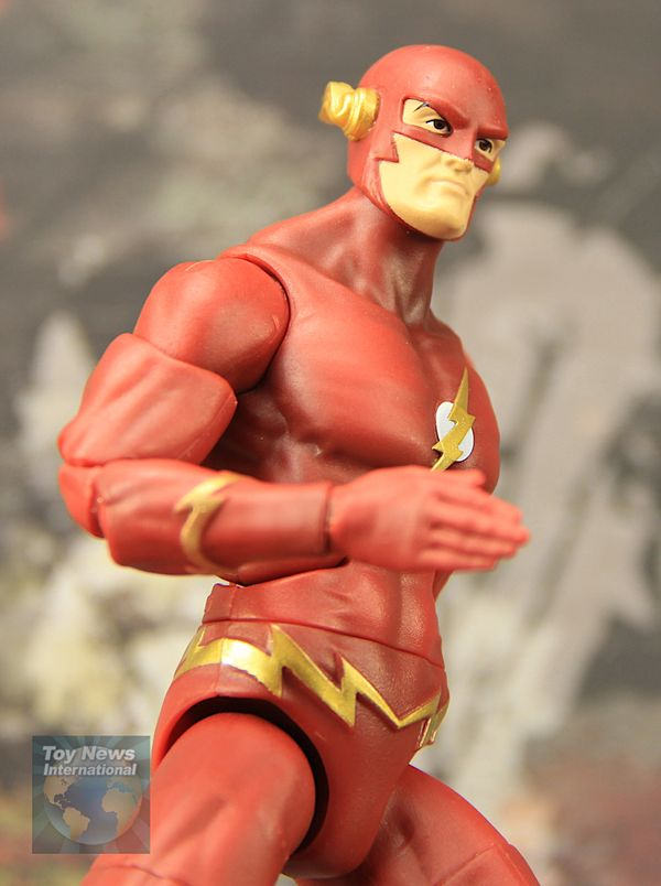 "DC Multiverse Signature Series 6.5"" 90's Flash TV Series John Wesley Shipp Flash Figure Video Review & Image Gallery"