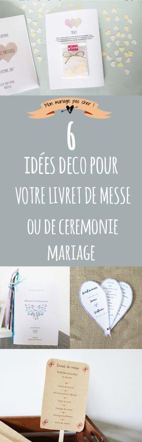Des idées déco et reliures pour vos livrets mariage