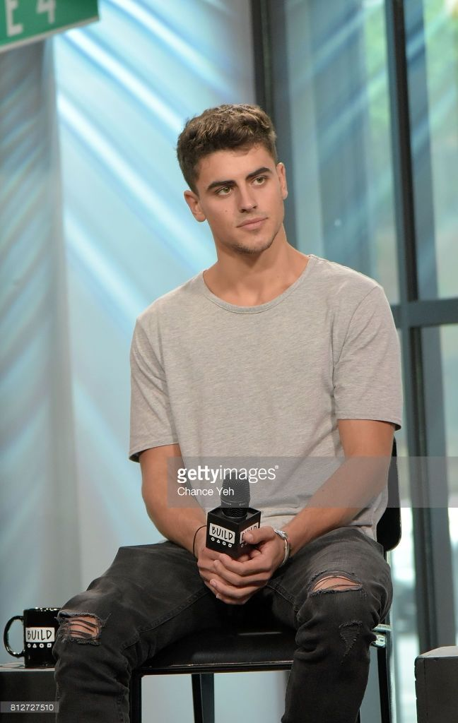 Jack Gilinsky attends Build series to discuss their new EP 'Gone' at Build Studio on July 11, 2017 in New York City.
