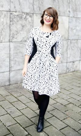 Lisa's Zadie dress - sewing pattern by Tilly and the Buttons