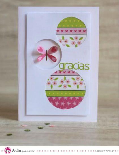 Aprende con este turorial paso a paso de Anita y su mundo cómo hacer tarjetas de felicitación de manera sencilla y con un resultado espectacular.