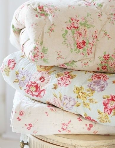 lovely soft and #shabby #quilts