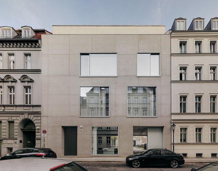 Extension Joachimstrasse 11, Berlino, 2013 - David Chipperfield Architects