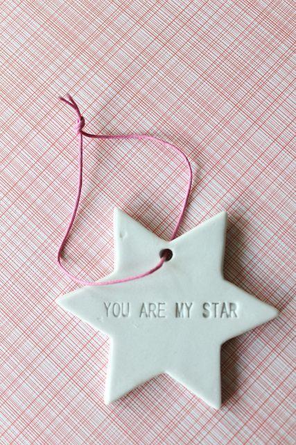 Bloomingville porcelain star