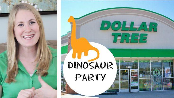 DOLLAR TREE   Dinosaur Birthday Party