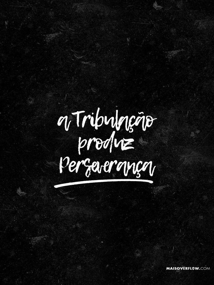 """""""A tribulação produz PERSEVERANÇA""""  Romanos 5:3  #30DaysOfBibleLettering"""