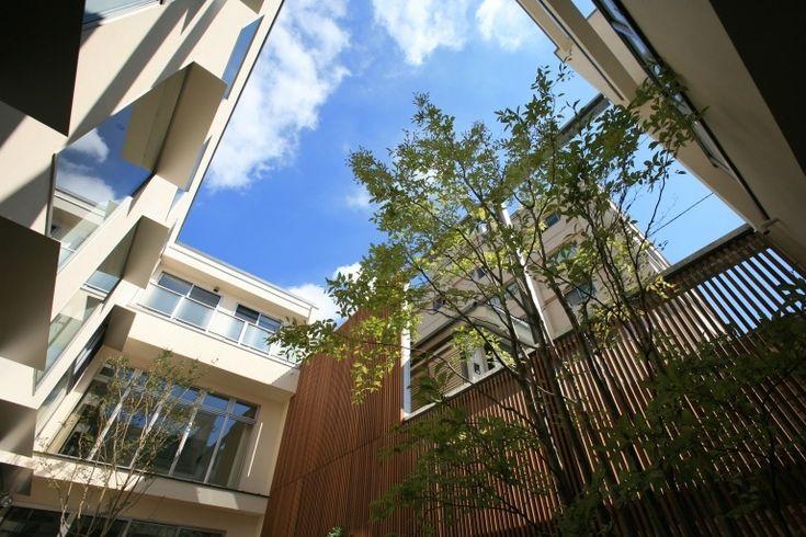 茶色の壁で引き締めたシンプルモダンの家 家族のためのプライベートガーデン 重量木骨の家 選ばれた工務店と建てる木造注文住宅