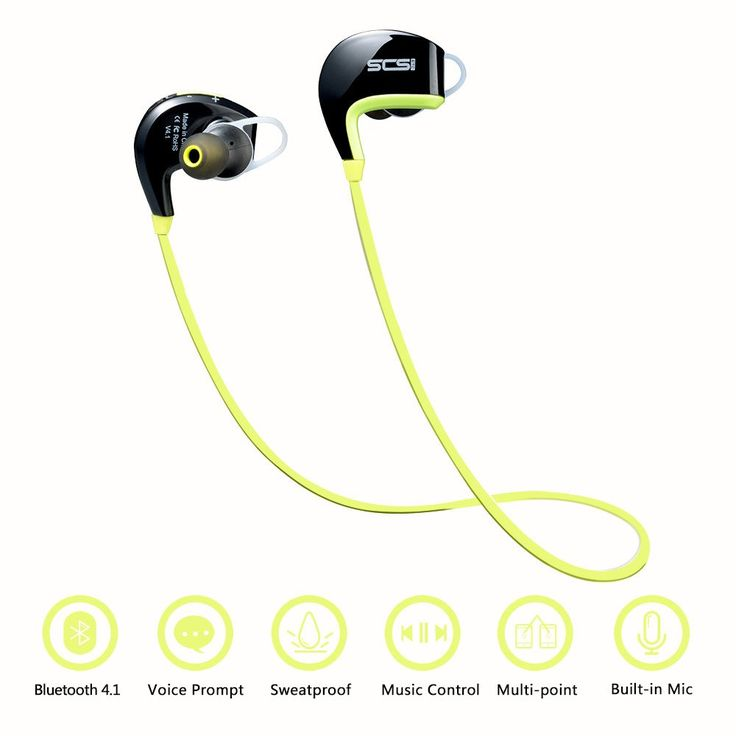 SCS ETC Bluetooth Headset Wireless Sport Noise Reduction Earphone with Microphone for Outdoor. High Quality Sound: Bluetooth 4.1 and CVC 6.0 noise reduction tech, provides the sport earbuds stereo sound quality, ensure pure sound during calls and while listening to music. Universal Connectivity: Our Bluetooth headset can pair with 2 bluetooth devices at the same time, including iPhone 6s, 6, 6 plus, iPad Air 2 mini 3, iPod Touch; Android Samsung Galaxy S7, S6 Edge, S5, Galaxy Tablet, Nexus…