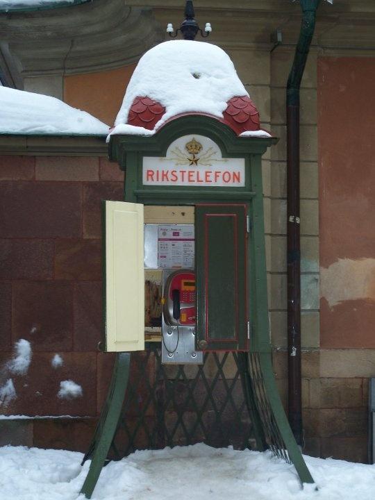 Rikstelefon Stockholm