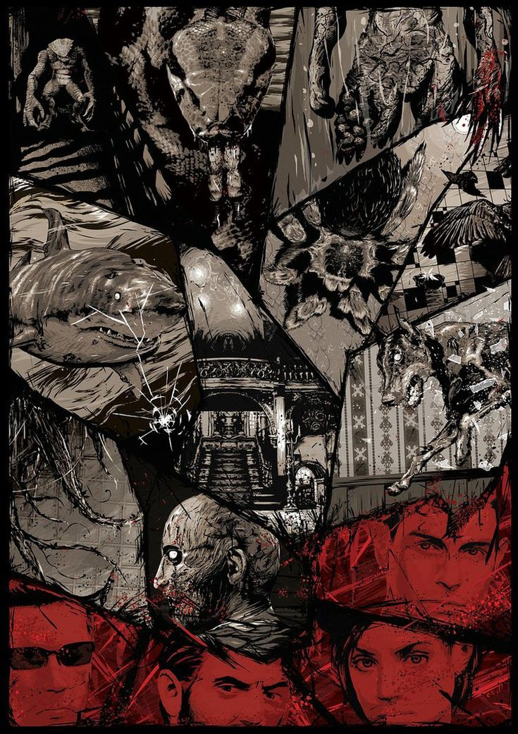 Resident Evil by Mikaël Aguirre   Print Available Till January 10th 2015