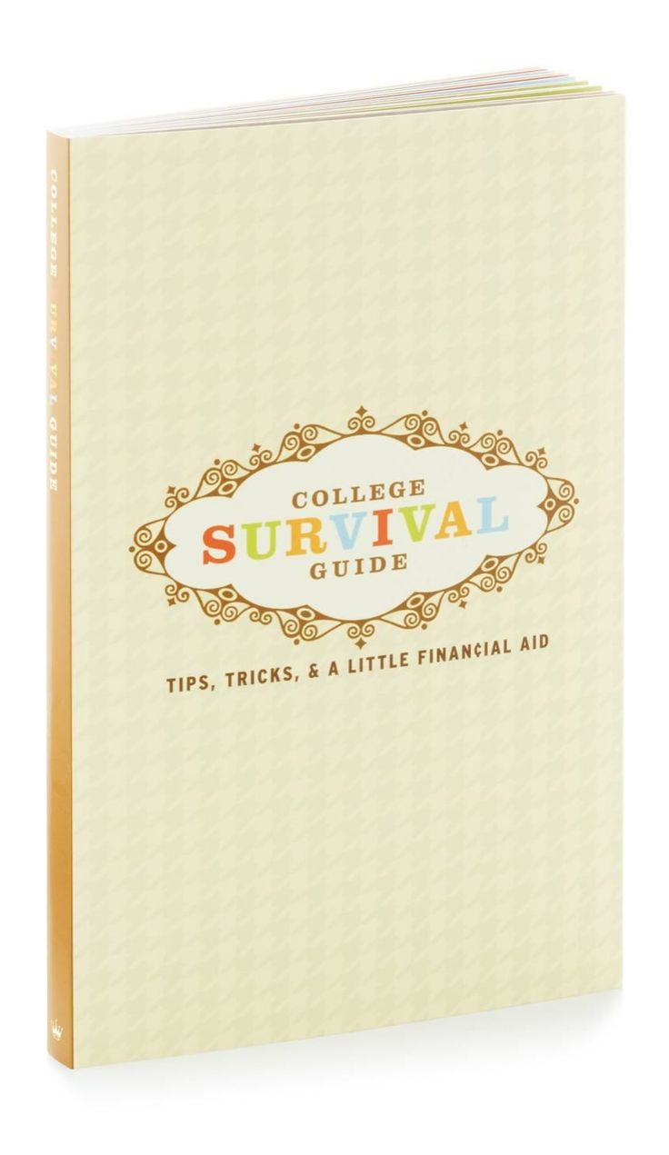 17 best ideas about college survival guide college college survival guide tips tricks a little financial aid graduation gift book