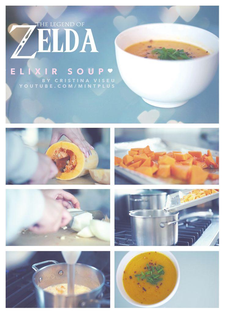 Zelda elixer soup gaming cristina viseu click to watch for Cuisine zelda