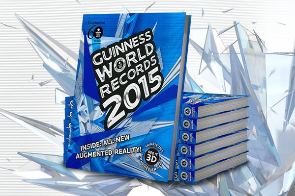 Guinness World Records 2015 Edition | Book & Ebook | Officially Amazing