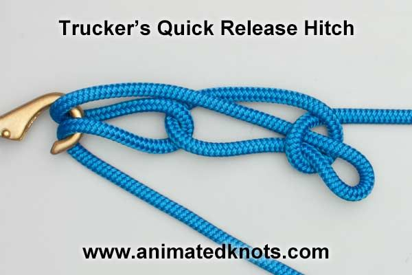 Tutorial on Quick Release Trucker's Hitch Tying