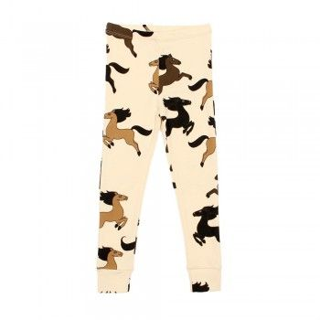 Mini Rodini horse print legging. Available to buy at http://www.fromlolawithlove.com.au