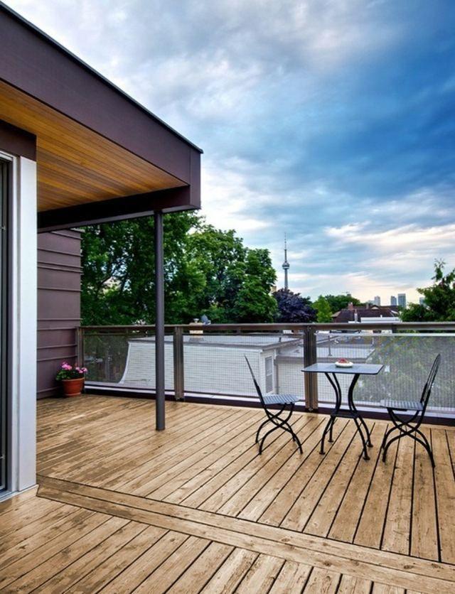 174 best Terrasse images on Pinterest Pergola ideas, Backyard - poser une terrasse bois sur sol meuble
