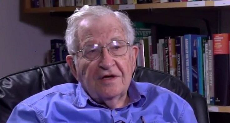 Noam Chomsky talks to teleSUR's Abby Martin (Screenshot/teleSUR English YouTube)