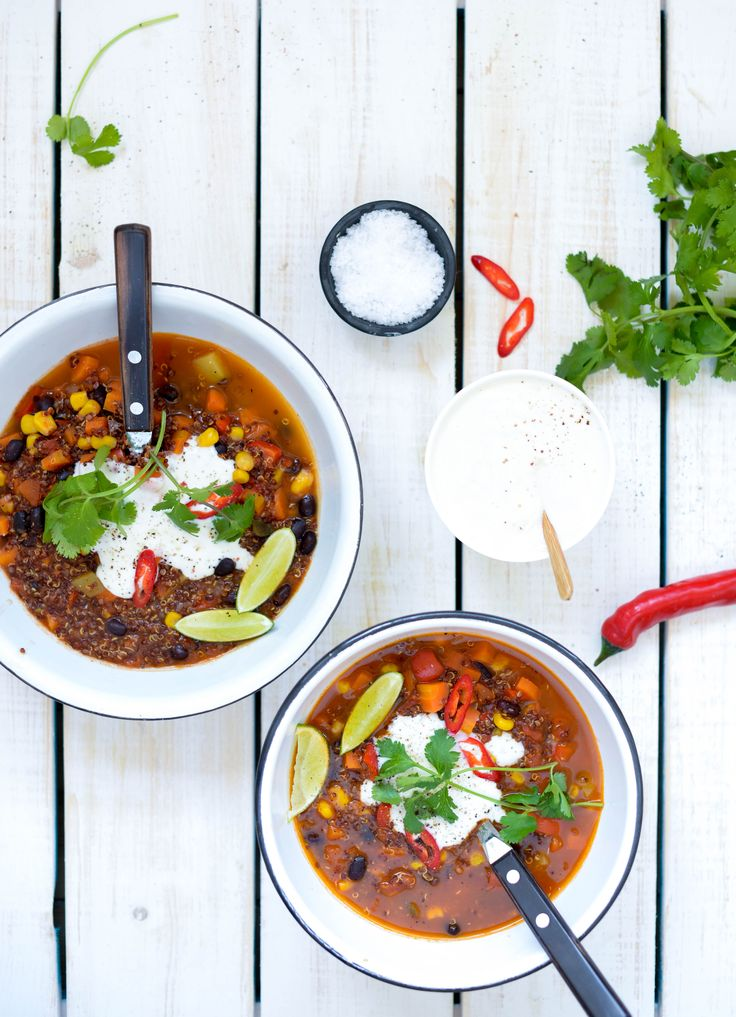 One Pot Mexicansk Quinoagryde