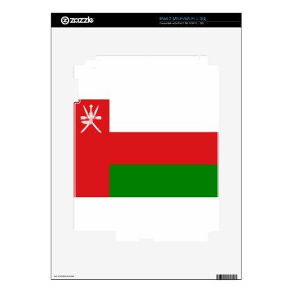 #Low Cost! Oman Flag Decal For iPad 2 - #travel #electronics