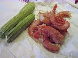 Pasticciando in cucina con il Cuisine Companion Moulinex: Code di gamberoni alla griglia con zucchine