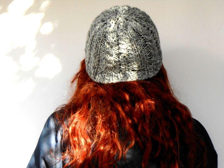cuffia alpaca e merino, cappellino a trecce maglia di cose di isa su DaWanda.com #cosediisa #knitting #knitbeanie