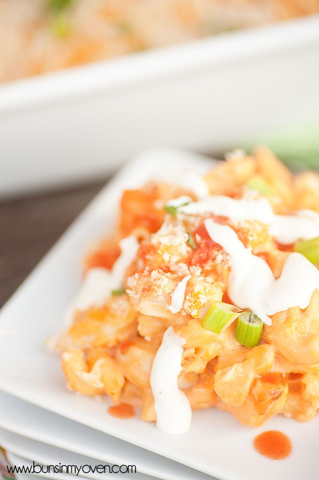 Buns In My Oven » Buffalo Chicken Macaroni and Cheese