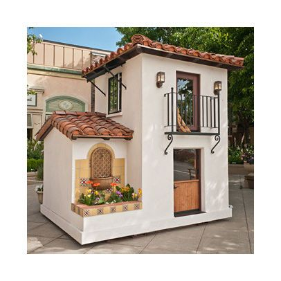 dog house.  If it had air conditioning and a tv maybe i could get my dogs to live in it.