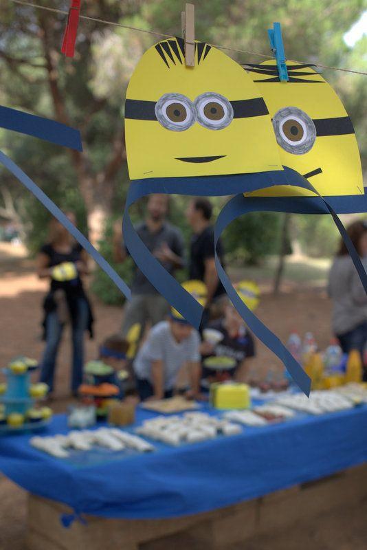 Fiesta infantil de Minions >> Barcelona Flavours #receta #DIY #fiestainfantil