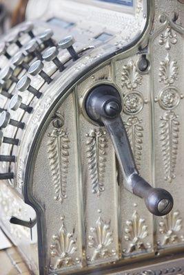 Vintage register details FleaingFrance Brocante Society
